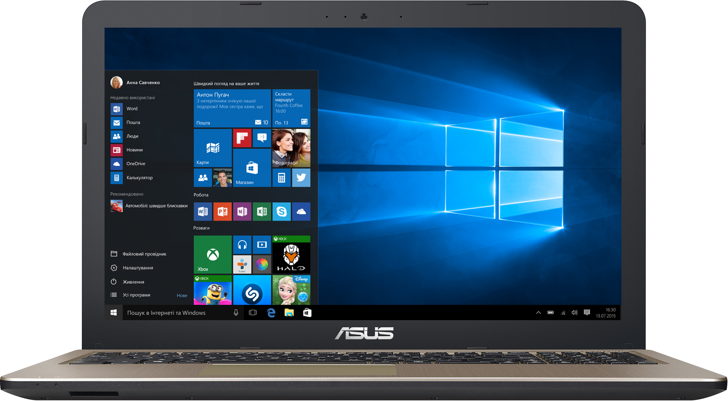 Ноутбук Asus VivoBook D540NA-GQ211T (90NB0HG1-M04200) Chocolate Black с Windows 10!