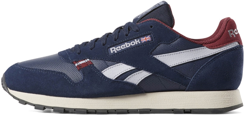 a73fde998d5b Кроссовки Reebok Cl Leather Mu CN7178 39 (7) 25 см Navy Red