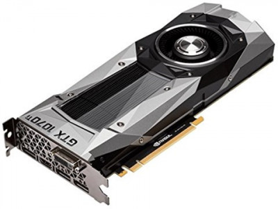 NVIDIA PCI-Ex GeForce GTX 1070 Ti Founders Edition 8GB GDDR5 (256bit) (1607/8008) (DVI, HDMI, 3 x DisplayPort) (900-1G411-2510-000)