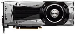 NVIDIA PCI-Ex GeForce GTX 1080 Founders Edition 8GB GDDR5X (256bit) (1607/10000) (DVI, HDMI, 3 x DisplayPort) (900-1G413-2500-000)