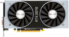 NVIDIA PCI-Ex GeForce RTX 2070 Founders Edition 8GB GDDR6 (256bit) (1410/14000) (DVI, USB Type-C, HDMI, 2 x DisplayPort) (900-1G160-2550-000)