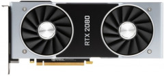NVIDIA PCI-Ex GeForce RTX 2080 Founders Edition 8GB GDDR6 (256bit) (1515/14000) (USB Type-C, HDMI, 3 x DisplayPort) (900-1G180-2500-000)