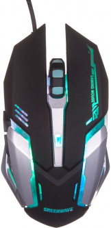Мышь Greenwave GM-3263MB USB Black (R0015166)