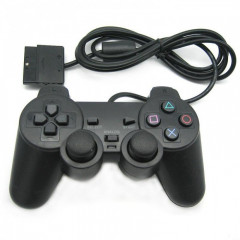 Проводной USB джойстик GamePad DualShock вибро для Sony PlayStation ps2