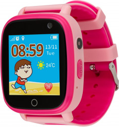 Atrix Smart Watch iQ1100 Aquatic Cam Flash Pink