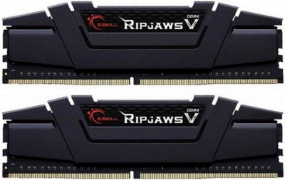 Оперативна пам'ять G.Skill DDR4-3200 32768MB PC4-25600 (Kit of 2x16384) Ripjaws V Black (F4-3200C16D-32GVK)