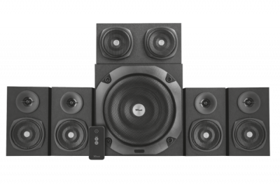 Акустична система Trust Vigor 5.1 surround speaker system for pc - black (22236)