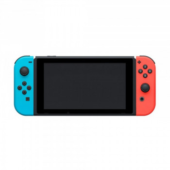 Nintendo Switch Neon Blue-Red + Игра Super Smash Bros. Ultimate (русская версия)