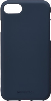 Панель Goospery для Apple iPhone 7/8 SF Jelly Midnight Blue (8809550400511)