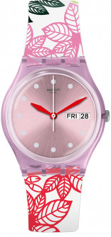 Женские часы SWATCH SUMMER LEAVES GP702