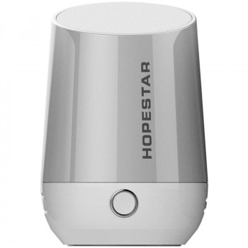 Колонка портативная Bluetooth Hopestar H22 серебристый