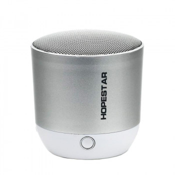 Колонка портативная Bluetooth Hopestar H9 серебристый