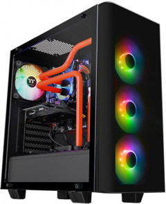 Корпус Thermaltake View 21 Tempered Glass RGB Plus Edition Black (CA-1I3-00M1WN-05)