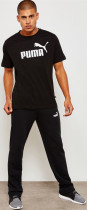 Футболка Puma Essentials Tee 85174001 M Cotton Black (4059506774201) - изображение 4