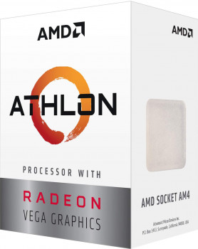 Процесор AMD Athlon 220GE 3.4GHz/4MB (YD220GC6FBBOX) AM4 BOX