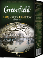 Чай чорний Greenfield Earl Grey Fantasy 200 г (4823096801018)