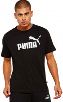 Футболка Puma Essentials Tee 85174001 S Cotton Black (4059506774799) - изображение 1