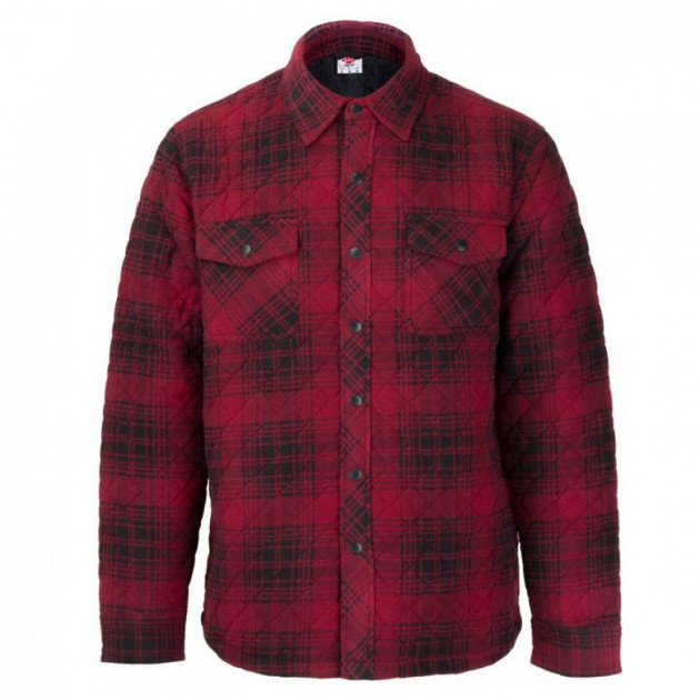 Рубашка Lee Cooper Quilted Padded Red Plaid, S (10050172) - изображение 1