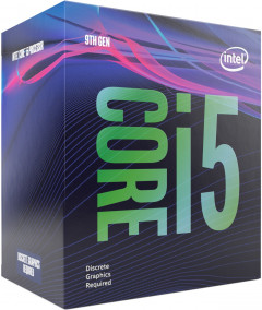 Процессор Intel Core i5-9400F 2.9GHz/8GT/s/9MB (BX80684I59400F) s1151 BOX