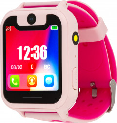 Смарт-часы Atrix Smart Watch iQ1700 IPS Cam Flash GPS Pink (iQ1700 Pink)