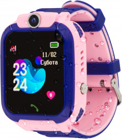 Смарт-часы Atrix Smart Watch iQ1500 Aquatic Cam GPS Pink (iQ1500 Pink)