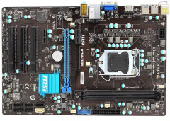 Материнська плата MSI B75A-IE35 (s1155, Intel B75, PCI-Ex16) OEM Refurbished