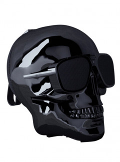 Мультимедийная акустика Jarre Technologies AeroSkull XS+ Chrome Black