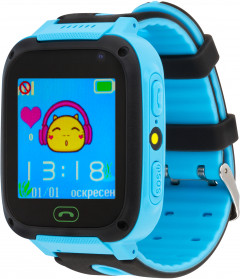 Смарт-часы Atrix Smart Watch iQ1400 Cam Flash GPS Blue (iQ1400 Blue)
