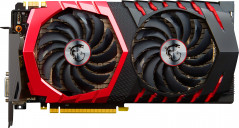 MSI PCI-Ex GeForce GTX 1080 Gaming 8GB GDDR5X (256bit) (1620/10010) (DVI, HDMI, 3 x DisplayPort) (GTX 1080 GAMING 8G)