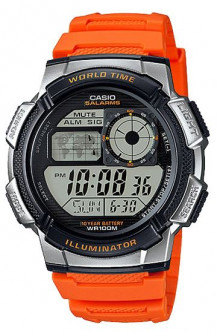 Часы CASIO AE-1000W-4BVEF Japan