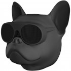 Бездротова Bluetooth колонка SUNROZ Aerobull Dog Chrome Black - зображення 2