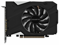Gigabyte PCI-Ex GeForce GTX 1660 Ti Mini ITX OC 6G 6GB GDDR6 (192bit) (1785/12000) (1 x HDMI, 3 x Display Port) (GV-N166TIXOC-6GD)