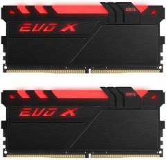 Оперативная память GeIL DDR4-3000 16384MB PC4-24000 (Kit of 2x8192) Evo X Black H LED (GEXB416GB3000C16ADC)