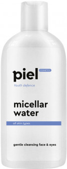 Мицеллярная вода для снятия макияжа Piel Youth Defence Eau Micellaire Demaquillant Face and Eye Makeup Remover 200 мл (4820187880259)