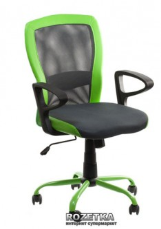 Кресло Office4You Leno (27784) Grey/Green