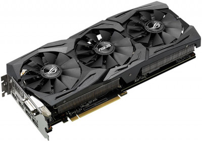 Відеокарта Asus Radeon RX 580 Rog Strix 8GB (ROG-STRIX-RX580-8G-GAMING) (F00149309)