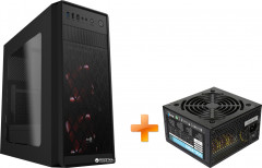 Корпус Aerocool SI-5100 Window Black + Блок питания Aerocool VX-700 700W (ACPN-VX70AEY.11)