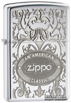 Зажигалка Zippo Gleaming Patina High Polish Chrome (24751)