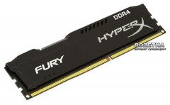 Оперативная память HyperX DDR4-2666 4096MB PC4-21300 Fury Black (HX426C15FB/4)