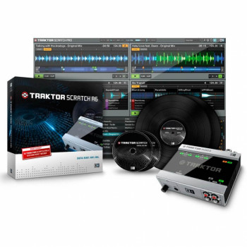 DVS-система Native Instruments Traktor Scratch A6 (375-284034)