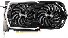 MSI PCI-Ex GeForce GTX 1660 Armor 6G OC 6GB GDDR5 (192bit) (1408/8000) (3 x DisplayPort, 1 x HDMI) (GeForce GTX 1660 ARMOR 6G OC)