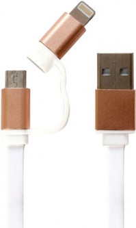 Patron Apple Lightning, microUSB - USB (CAB-PN-LIGHT-MIC-1M)