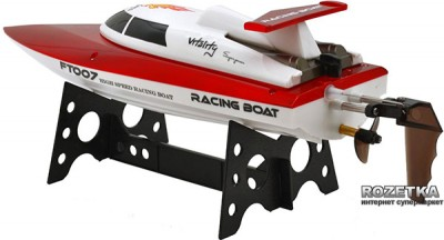 Катер на р/к Fei Lun Racing Boat FT007 2.4GHz Червоний (FL-FT007r) (2711665834715)