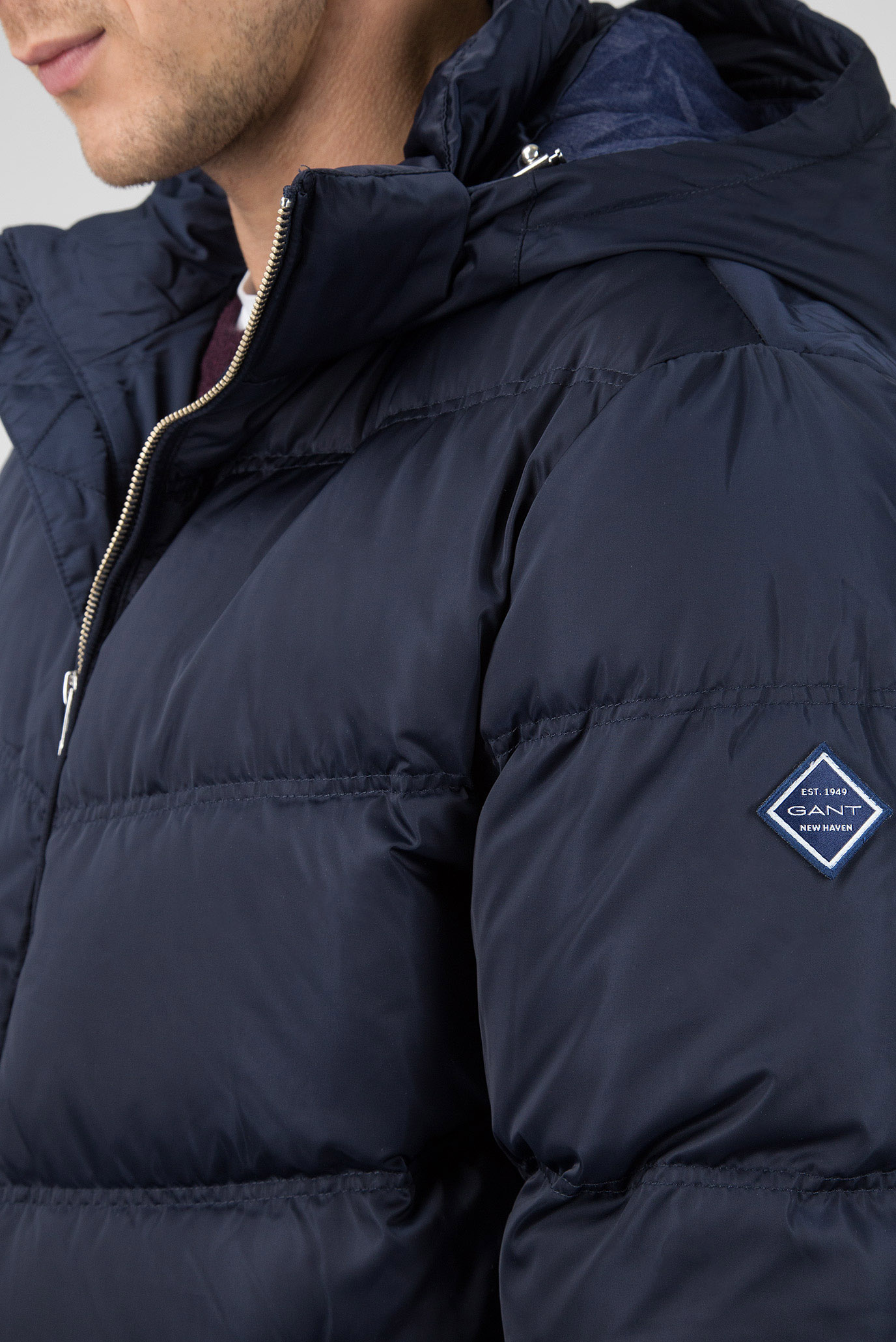 48d276a5d7c Пуховик GANT O2. The Alta Down Jacket 7001542-410 XXL Синий (7325702535326)