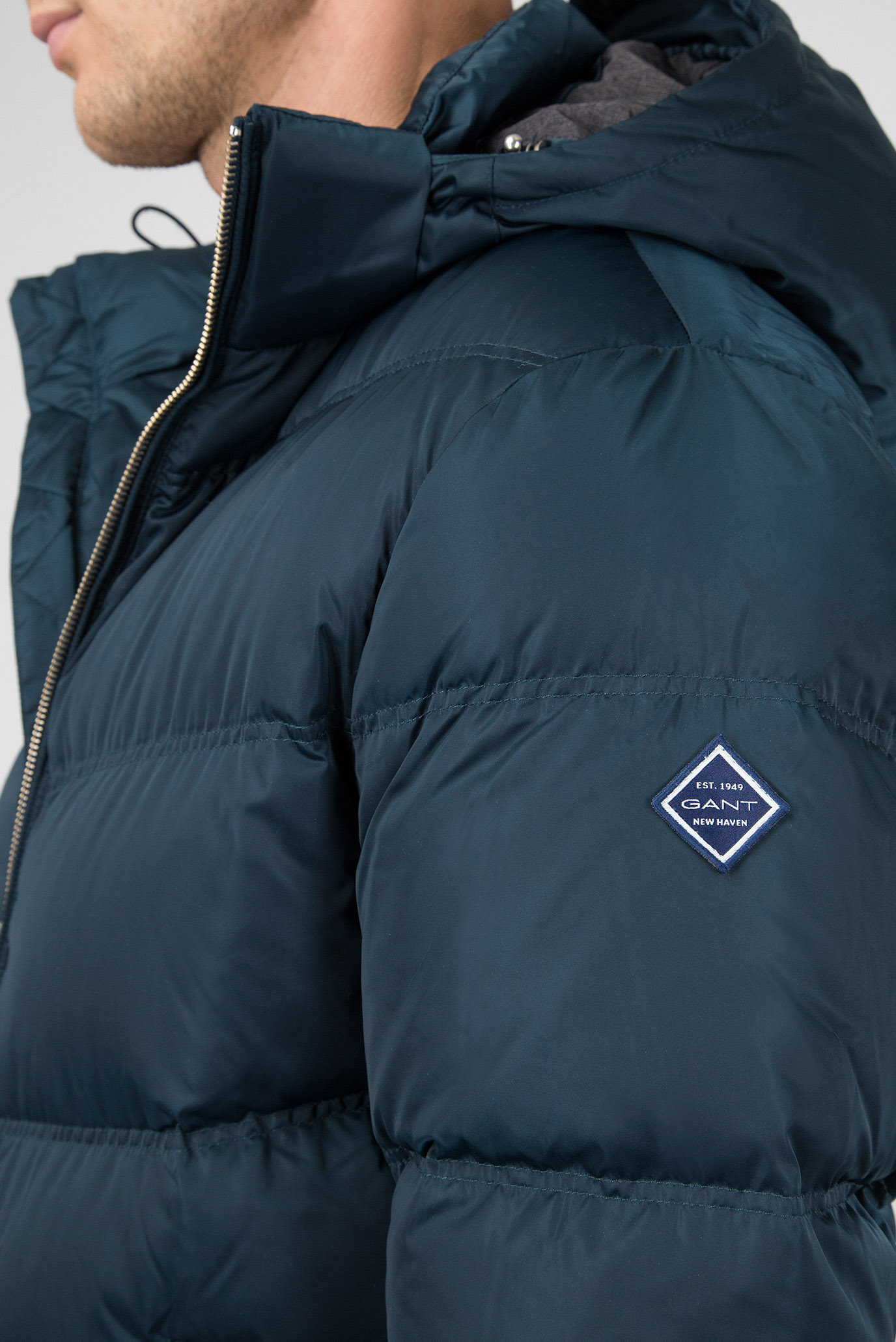 49e15adba23 Пуховик GANT O2. The Alta Down Jacket 7001542-438 XL Бирюзовый  (7325702535388)