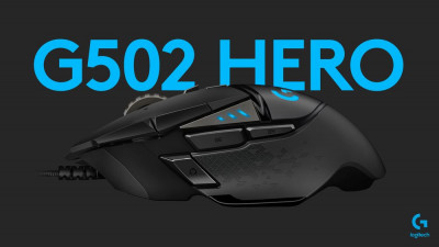 Миша Logitech G502 Gaming Mouse HERO High Performance Black (910-005470)