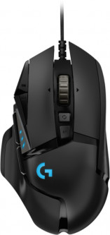 Мышь Logitech G502 Gaming Mouse HERO High Performance Black (910-005470)
