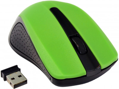 Миша Gembird MUSW-101-G Wireless Green