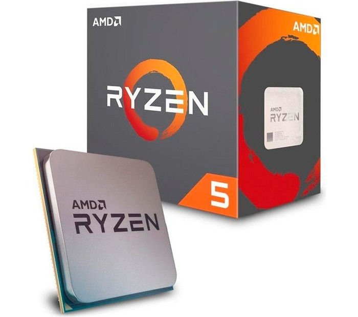 Процессор AMD AM4 Ryzen 5 1400 Box 4x32 GHz Turbo Boost 34 GHz L3 8Mb  Summit Ridge 14 nm TDP 65W YD1400BBAEBOX