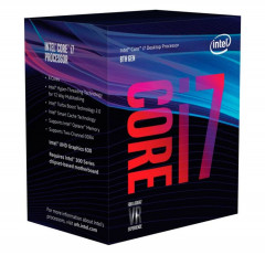 Процессор Intel Core i7 LGA1151 i78700 Box 6x32 GHz Turbo Boost 46 GHz UHD Graphic 630 1200 MHz L3 12Mb Coffee Lake 14 nm